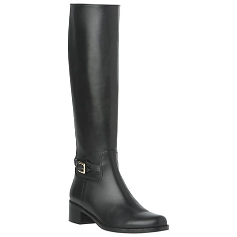 Buy L.K. Bennett Sarah Leather Knee High Riding Boots Online at johnlewis.com
