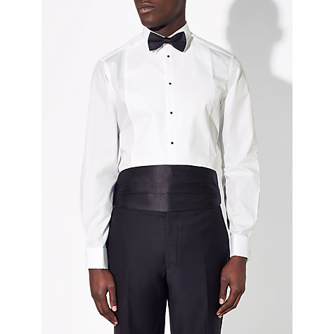 Buy John Lewis Dress Shirt Set, White/Black Online at johnlewis.com