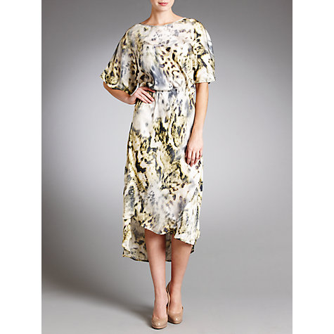 Buy Ghost Honor Printed Dress, Eliah Digi Online at johnlewis.com