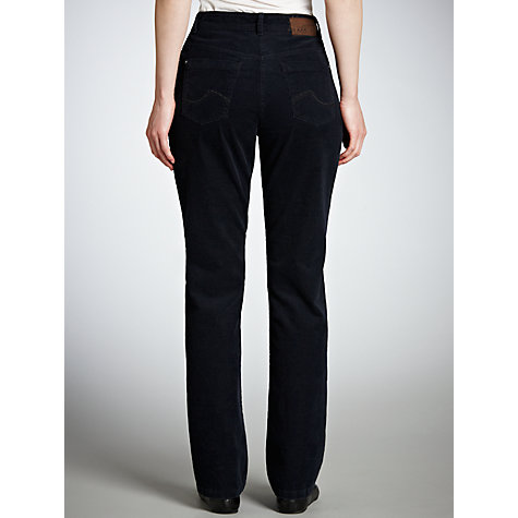 Buy Zaffiri Lucilla Corduroy Trousers, Blue Online at johnlewis.com