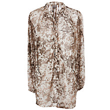 Buy Ghost Myla Tunic Top, Cherry Blossom Online at johnlewis.com