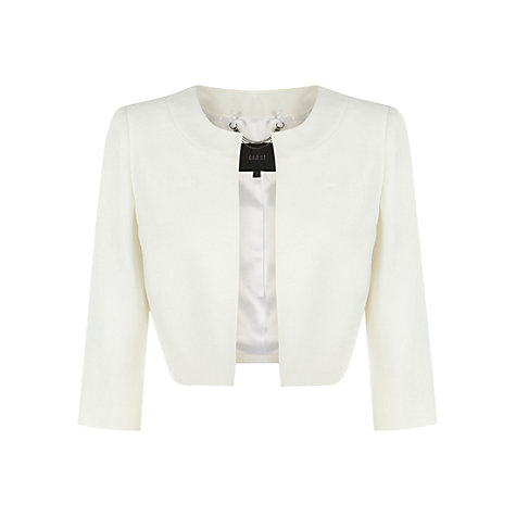 Buy Coast Geena Jacket, Ivory Online at johnlewis.com