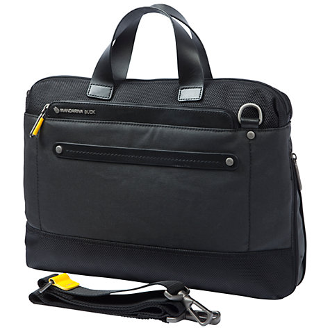 "Buy Mandarina Duck Cabrio 13.3"" Laptop and Tablet Briefcase, Small Online at johnlewis.com"
