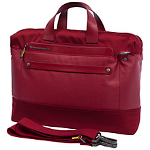 "Buy Mandarina Duck Cabrio 13.3"" Laptop and Tablet Briefcase, Red, Medium Online at johnlewis.com"