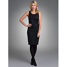 Buy Betty Barclay Animal Print Shift Dress, Black Online at johnlewis.com