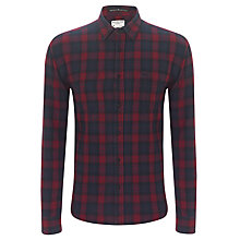 Buy Selected Homme Hank Check Shirt, Navy Online at johnlewis.com