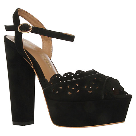 Buy Kurt Geiger Helena London Suede Platform Sandals Online at johnlewis.com