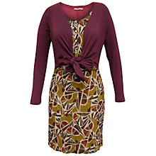 Buy Sandwich Leaf Print Dress, Multi Online at johnlewis.com