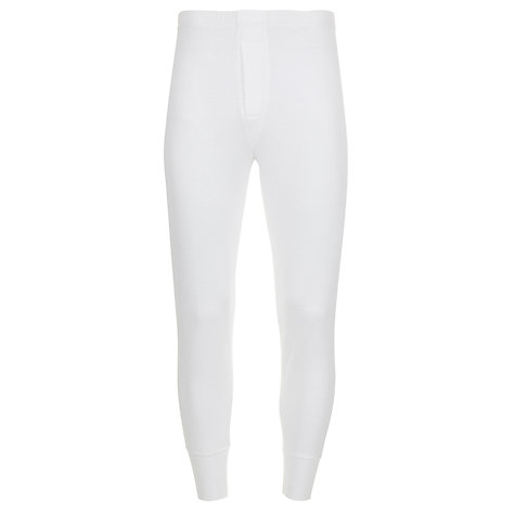 Buy John Lewis Thermal Jersey Long Johns Online at johnlewis.com