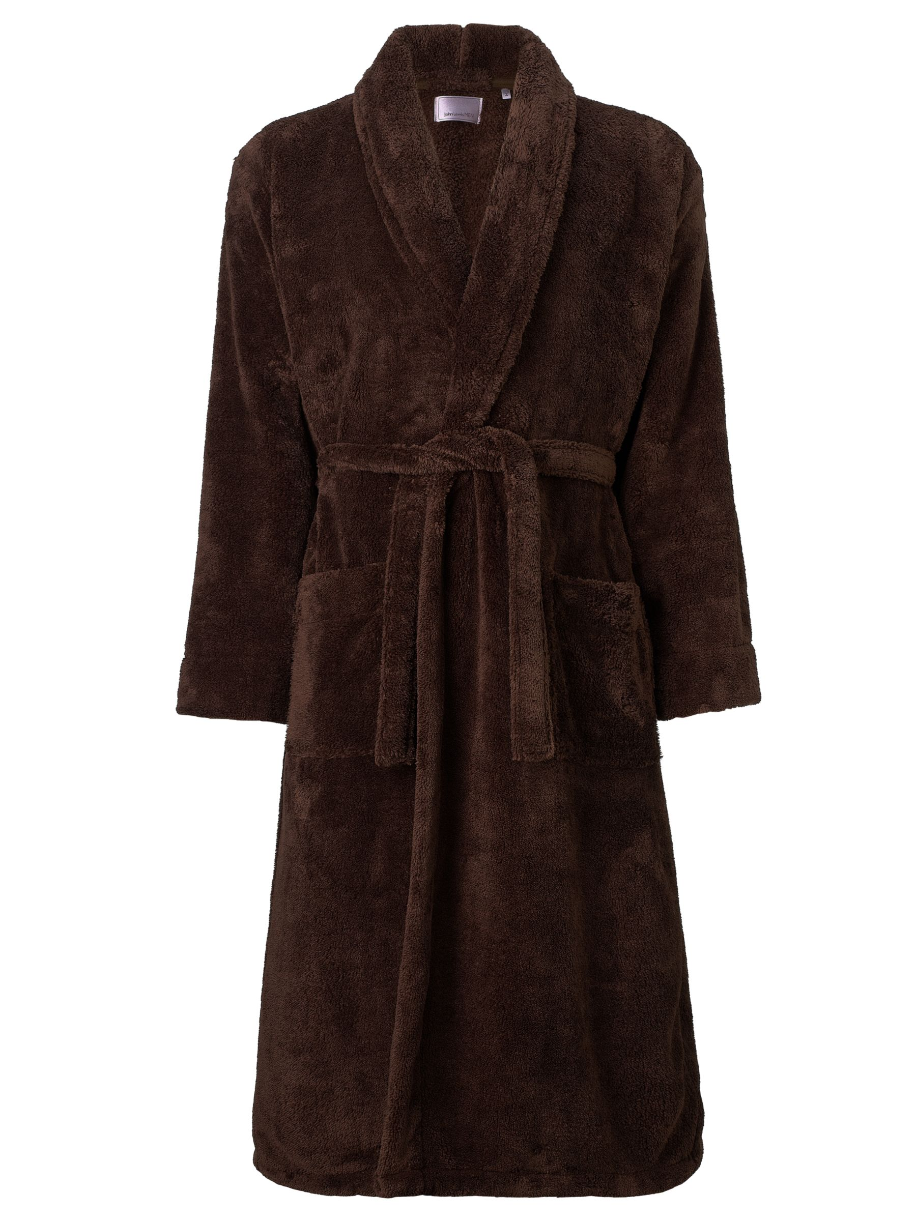 John Lewis Sheared Fleece Robe