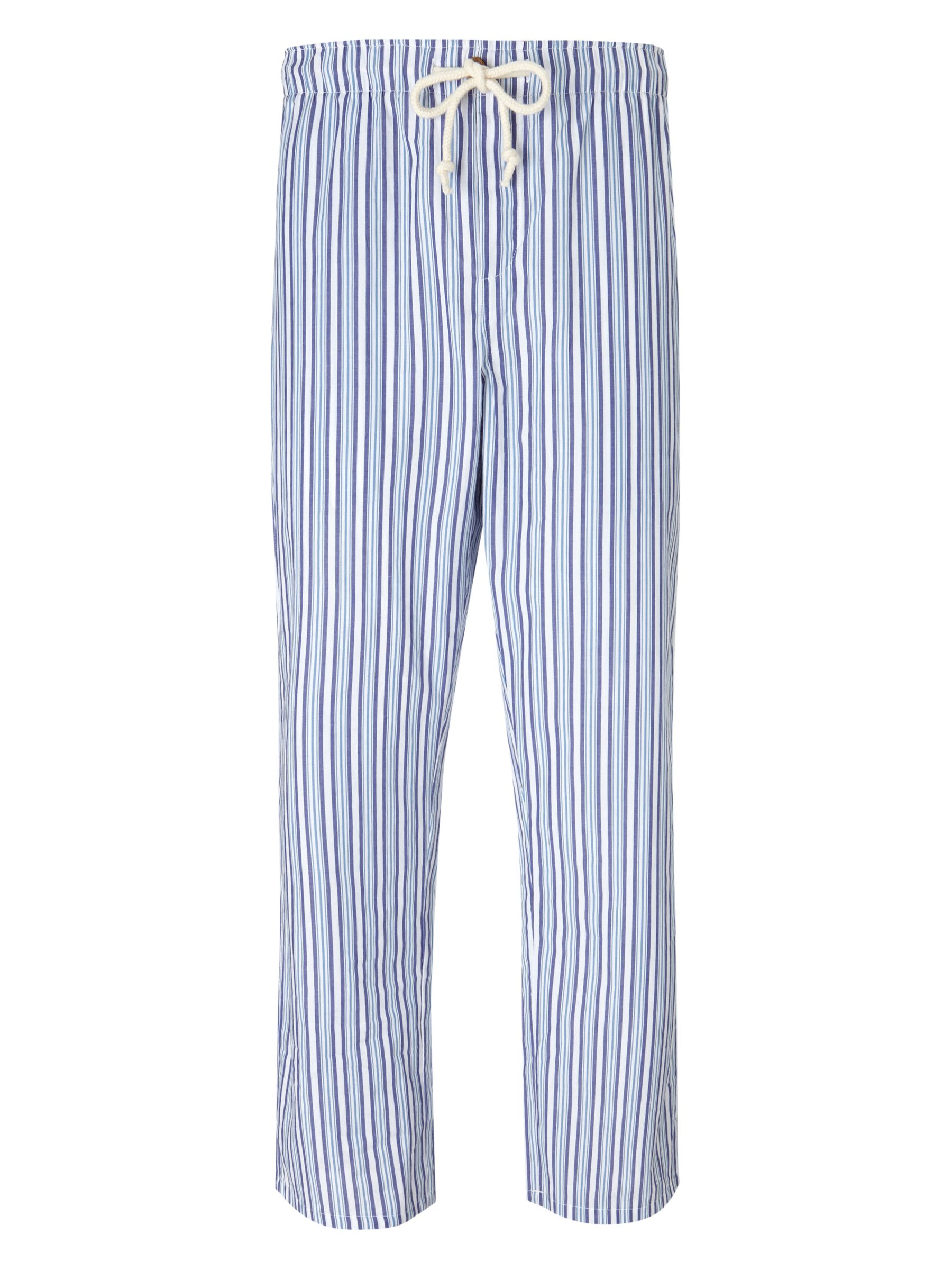 John Lewis Tom Stripe Lounge Pants, Purple