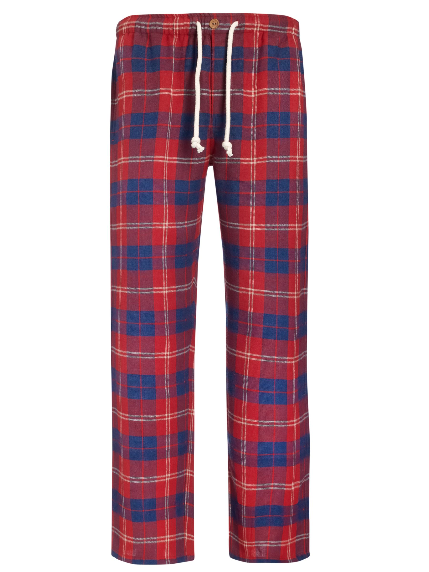 John Lewis John Check Lounge Pants, Red