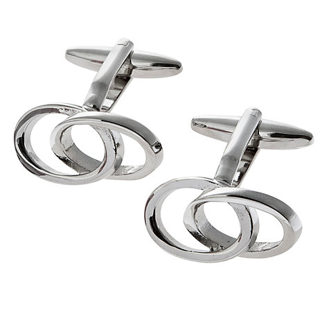 Buy John Lewis Links Metal Cufflinks, Metallics Online at johnlewis.com