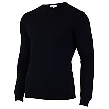 Buy Calvin Klein Golf Merino Mix V-Neck Jumper Online at johnlewis.com