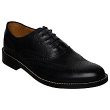 Buy Dune Axton Leather Brogue Oxford Shoes Online at johnlewis.com