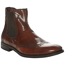 Buy Dune Agros Wingtip Leather Chelsea Boots Online at johnlewis.com
