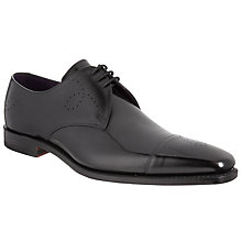 Buy Barker for John Lewis Holborn Toe Cap Leather Derby Shoes Online at johnlewis.com