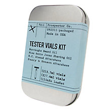 Buy Izola Prospector Tester Vials Kit Online at johnlewis.com