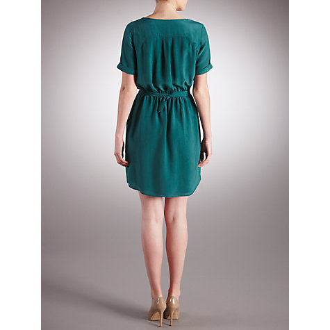 Buy Pyrus Louise Ruffle Front Dress, Alpine Online at johnlewis.com