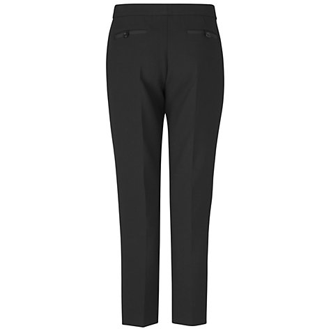 Buy Jaeger Grosgrain Trim Trousers, Jaeger Online at johnlewis.com