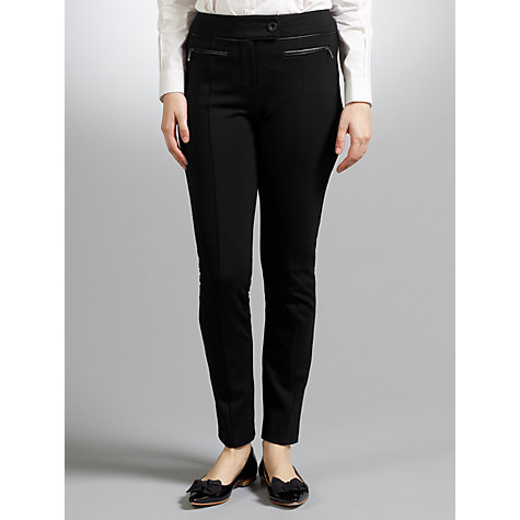 Buy COLLECTION by John Lewis Ponte Trousers, Black Online at johnlewis.com