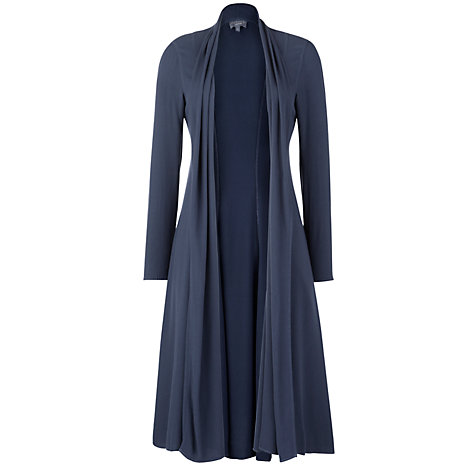 Buy Ghost Alma Crepe Winter Coat, Blue Rock Online at johnlewis.com