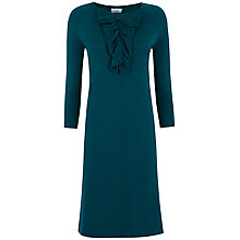Buy Hoss Intropia Jersey Dress, Dark Turquoise Online at johnlewis.com