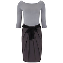Buy Hoss Intropia Knit Contrast Dress, Multi Online at johnlewis.com