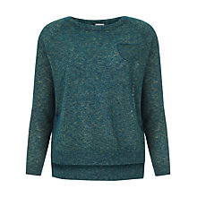 Buy Hoss Intropia Jumper, Green Online at johnlewis.com