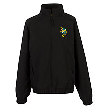 Buy K.D. Grammar School for Boys Tracksuit Top, Black Online at johnlewis.com