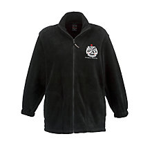 Buy St James' Catholic High School Fleece, Black Online at johnlewis.com