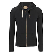 Buy JOHN LEWIS & Co. Vintage Zip Hoodie, Navy Online at johnlewis.com