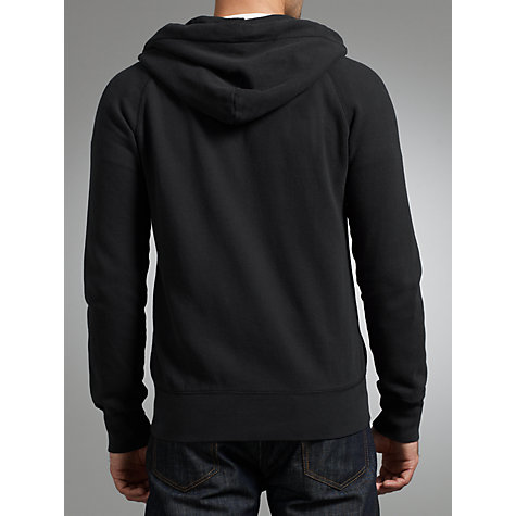 Buy JOHN LEWIS & Co. Vintage Full-Zip Hoodie, Navy Online at johnlewis.com