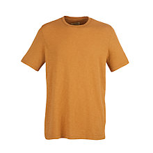 Buy JOHN LEWIS & Co. Slub Vintage Crew Neck Short Sleeve T-Shirt Online at johnlewis.com