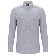Buy JOHN LEWIS & Co. Sunday Best Removeable Collar Shirt, Blue Online at johnlewis.com