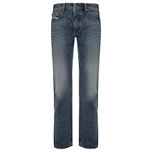 Buy Diesel Larkee 008Z8 Straight Jeans, Blue Online at johnlewis.com