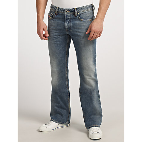 Buy Diesel Larkee 008Z8 Straight Leg Jeans Online at johnlewis.com
