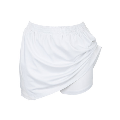 Buy School Girls' Games Skort, White Online at johnlewis.com