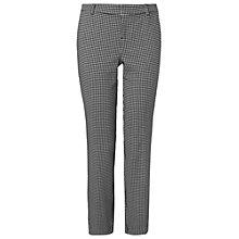 Buy Phase Eight Edie Dogtooth Trousers, Multi Online at johnlewis.com