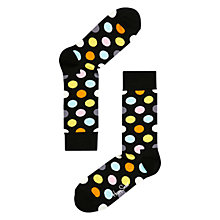 Buy Happy Socks Big Dot Socks, Multi Online at johnlewis.com