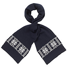 Buy JOHN LEWIS & Co. Fair Isle Scarf Online at johnlewis.com