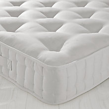 Buy John Lewis Natural Collection Cotton 1200 Mattress, Double Online at johnlewis.com
