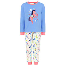 Buy John Lewis Girl Carnival Horse Pyjamas, Multi Online at johnlewis.com