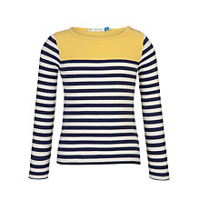 Buy John Lewis Girl Engineer Stripe Top Online at johnlewis.com
