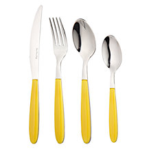 Buy John Lewis Vero Cutlery, Citroen  Online at johnlewis.com
