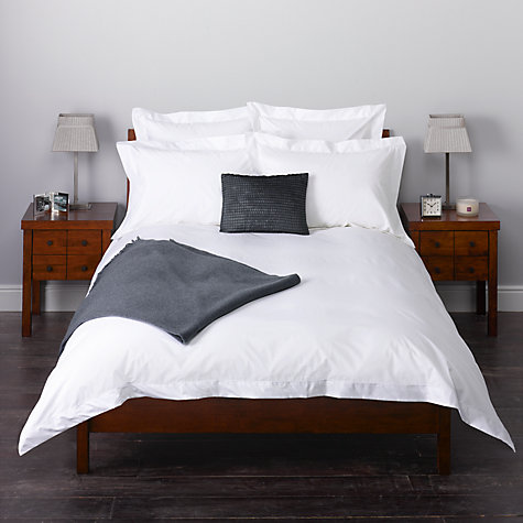 Buy John Lewis Luxury Egyptian Cotton Satin Stitch Bedding Online at johnlewis.com