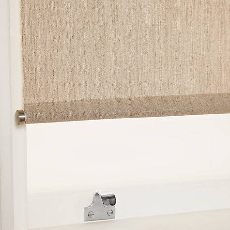 Buy John Lewis Linen Mix Premium Daylight Roller Blinds With Bottom Bar Online at johnlewis.com