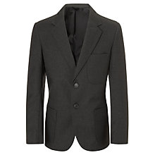 Buy Boys' School Blazer, Grey Online at johnlewis.com