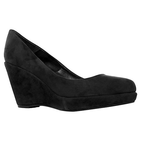 Buy Carvela Agate Suede Wedge Plaftorm Court Shoes Online at johnlewis.com