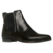 Buy KG by Kurt Geiger Winchester Chelsea Leather Boots, Black Online at johnlewis.com